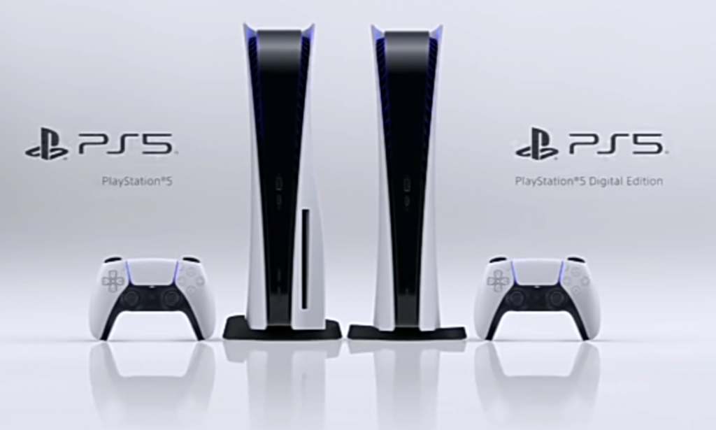 the 2 types of playstation 5 console