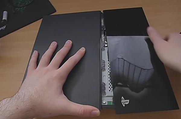 Remove Console cover; PS4 console